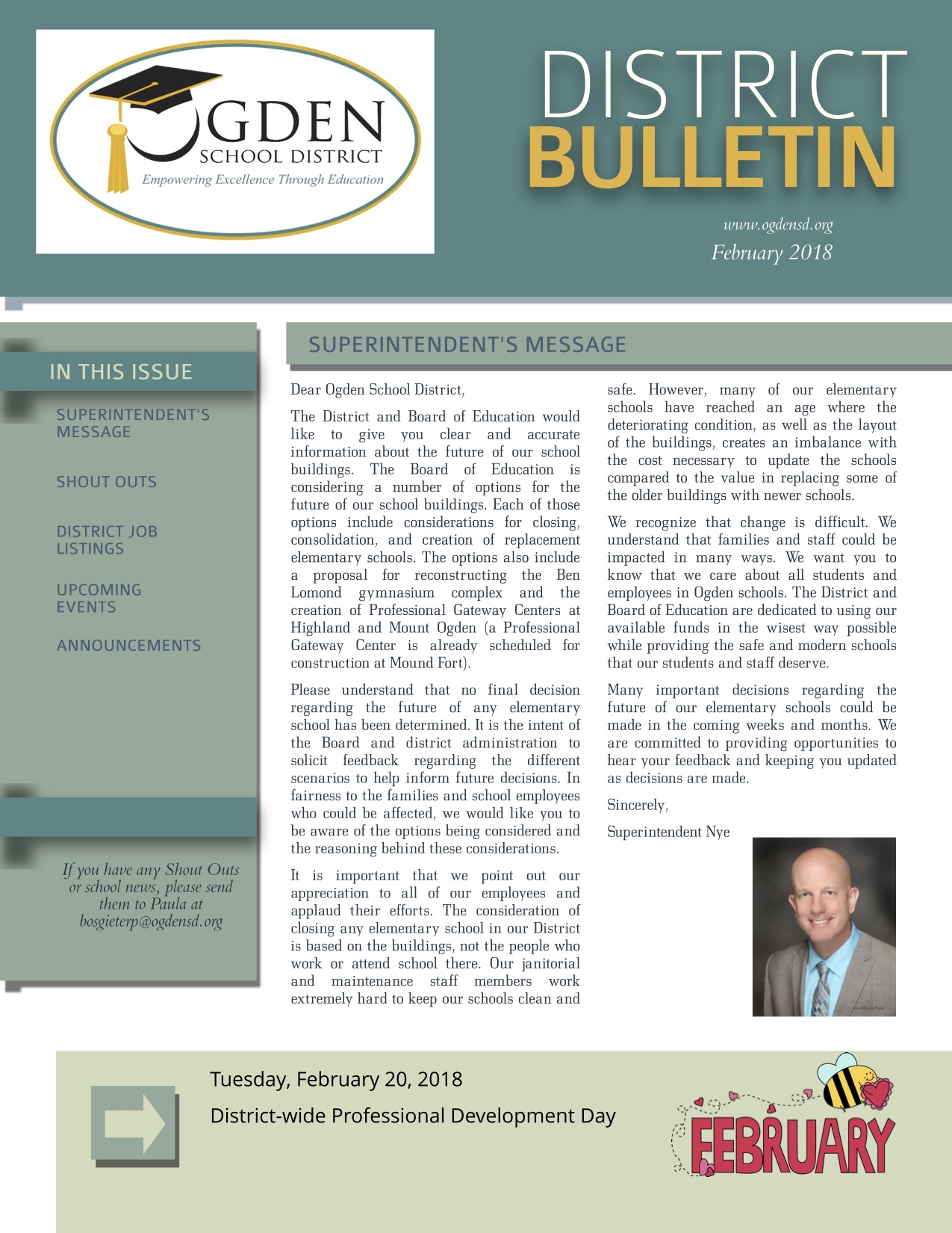 February District Bulletin