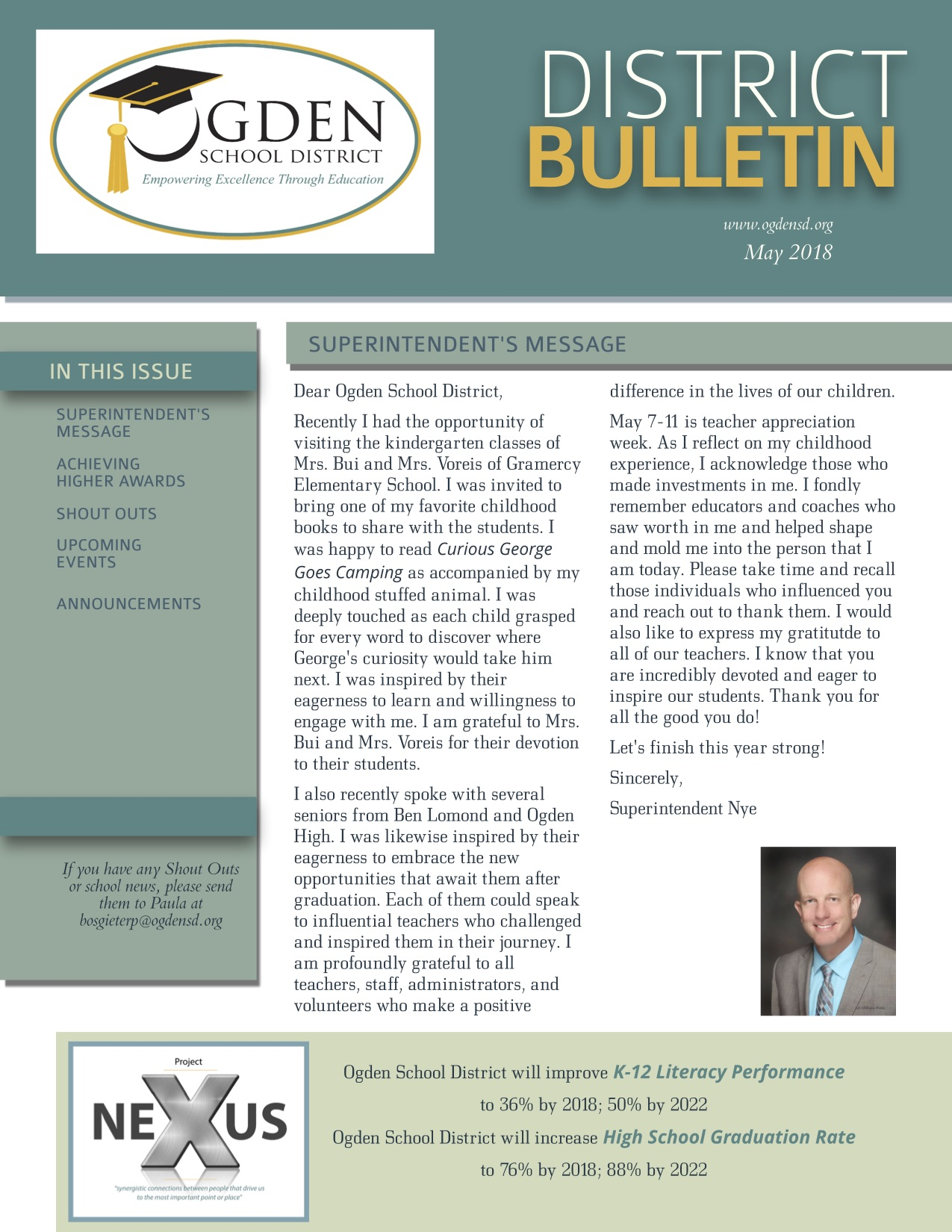 Ogden School District May Bulletin